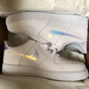 Nike Air Force 1 ,07 LV8 White size 13 w/ multi ☑️